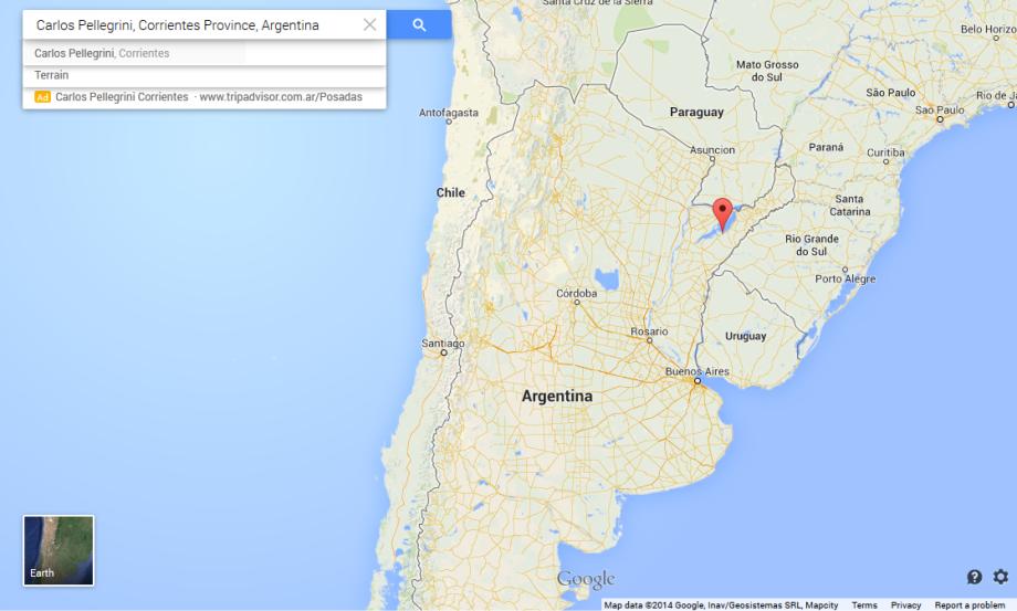 Ibera map