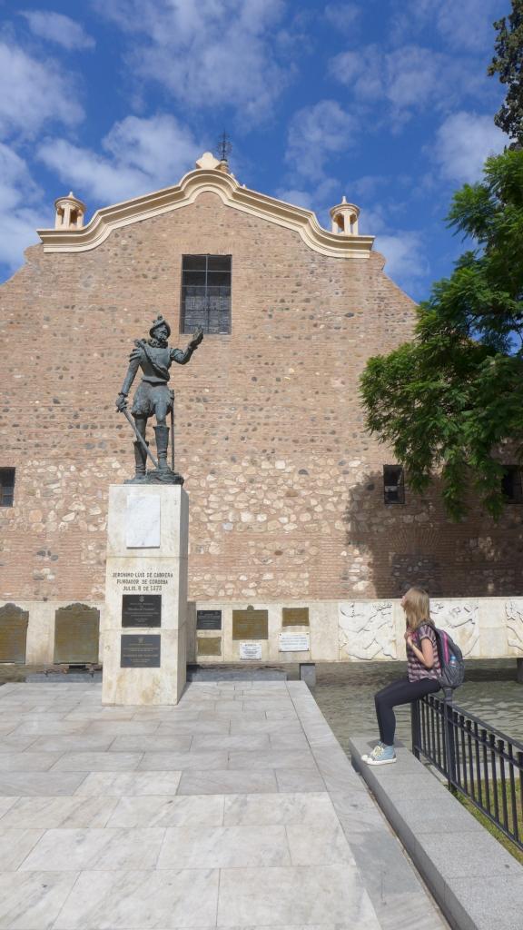 основатель города Херонимо Луис де Кабрера читает мне стихи