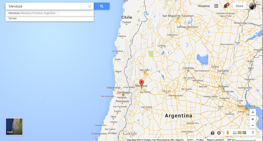 Mendoza mappng