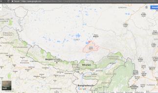 Lhasa map